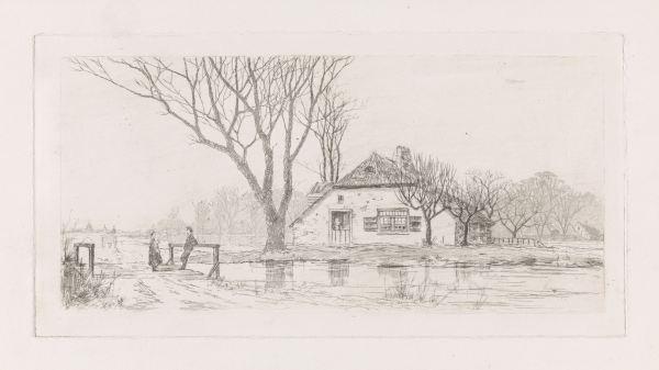 RP-P-1889-A-15158_1_Boerderij in Tricht, Elias Stark, 1887