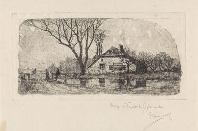 RP-P-1889-A-15159_2_Boerderij in Tricht, Elias Stark, 1887