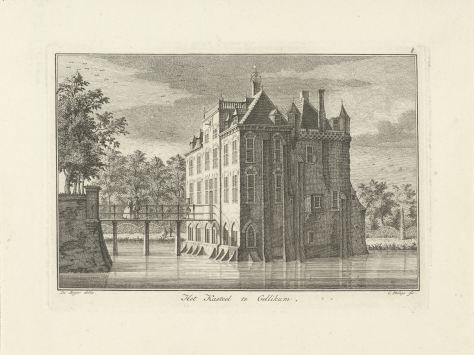 RP-P-1904-4006_Gezicht op het kasteel te Gellicum, Caspar Jacobsz. Philips, 1752 - 1789.jpg