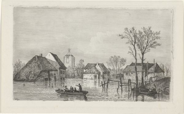 RP-P-OB-55.853_Overstroming bij Beesd, 1855, Willem Gruyter (Jr.), Mari ten Kate, 1832 - 1880.jpg