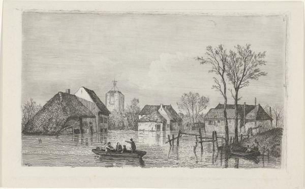 RP-P-OB-55.853_Overstroming bij Beesd, 1855, Willem Gruyter (Jr.), Mari ten Kate, 1832 - 1880.jpg