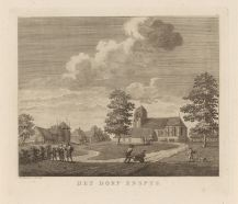 RP-P-OB-59.070_Gezicht op Enspijk, Hermanus Petrus Schouten, 1762 - 1822
