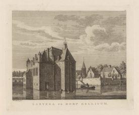 RP-P-OB-59.071_Gezicht op Gellicum, Hermanus Petrus Schouten, , 1762 - 1822