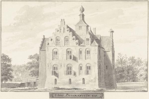 RP-T-1888-A-1678_Het kasteel Bulkestein bij Deil, Gelderland, Cornelis Pronk, 1728 - 1732.jpg