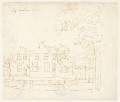 RP-T-1888-A-1704_De kerk te Rumpt, Gelderland, Cornelis Pronk, 1728