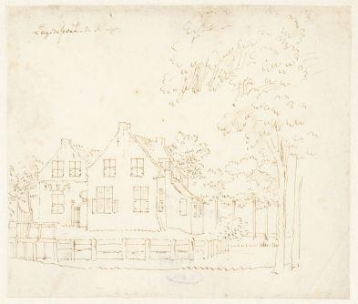 RP-T-1888-A-1704_Het huis Lagenpoel te Rumpt, Cornelis Pronk, 1701 - 1759
