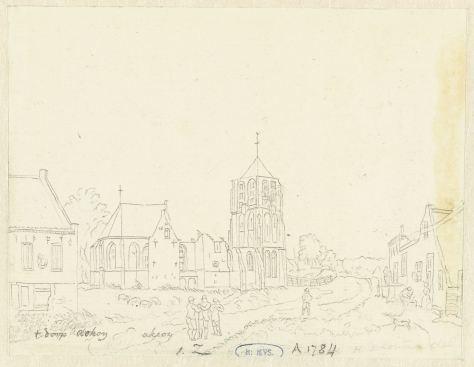 RP-T-1888-A-1784(V)_De kerk in het dorp Acquoy, Hermanus Petrus Schouten, 1757 - 1822.jpg