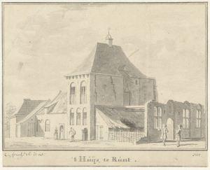 RP-T-1892-A-2491_Het Huis te Rumpt, Gelderland, Cornelis Pronk,1728