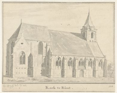 RP-T-1892-A-2492_De kerk te Rumpt, Gelderland, Cornelis Pronk, 1728.jpg