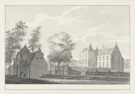 RP-T-1900-A-4407_Kasteel Geldermalsen, Pieter Jan van Liender, 1737 - 1779