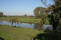 Het landschap langs de Linge. Foto: Martine Eerelman-Hanselman, 2012