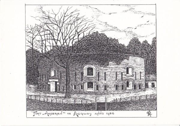 Pentekening Fort Asperen te Acquoy anno 1986.jpg