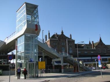 Het station anno 2012. Foto: Martine Eerelman-Hanselman.
